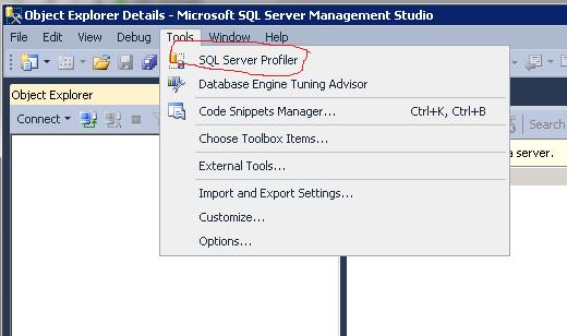 MS BICOE | An Odd Behaviour to Use SQL Server 2012 Profiler